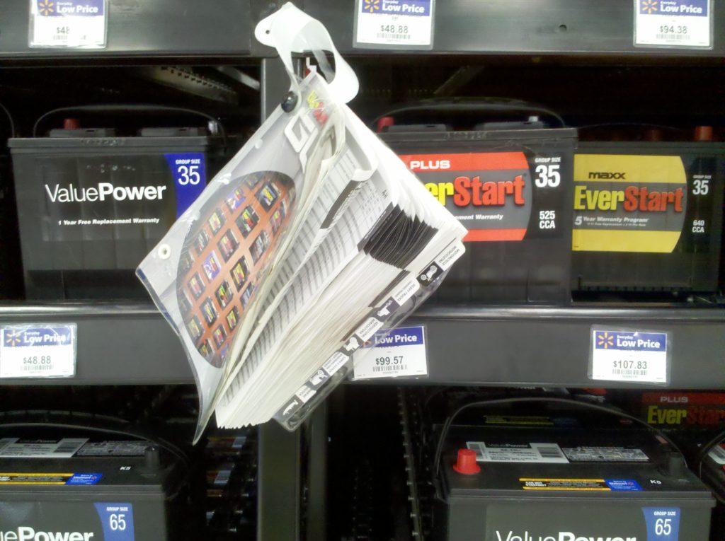 Walmart Batteries